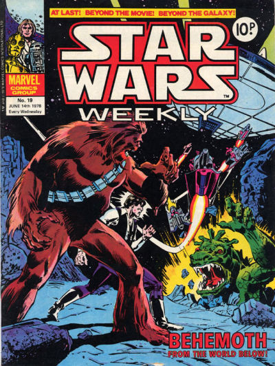Cover for Star Wars Weekly (Marvel UK, 1978 series) #19