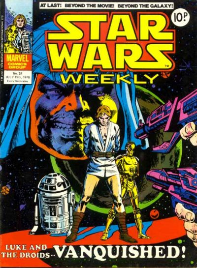 Cover for Star Wars Weekly (Marvel UK, 1978 series) #24