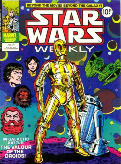 Cover for Star Wars Weekly (Marvel UK, 1978 series) #29