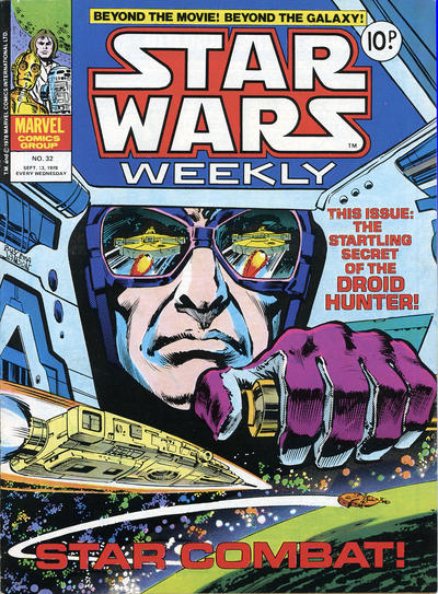Cover for Star Wars Weekly (Marvel UK, 1978 series) #32
