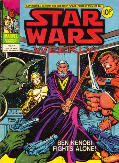 Cover for Star Wars Weekly (Marvel UK, 1978 series) #43