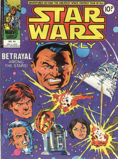 Cover for Star Wars Weekly (Marvel UK, 1978 series) #44