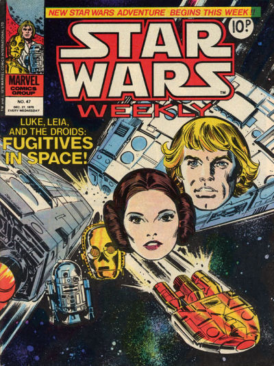 Cover for Star Wars Weekly (Marvel UK, 1978 series) #47
