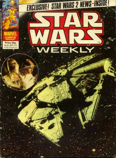 Cover for Star Wars Weekly (Marvel UK, 1978 series) #50