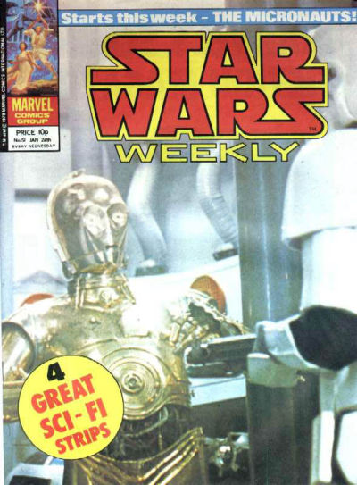 Cover for Star Wars Weekly (Marvel UK, 1978 series) #51