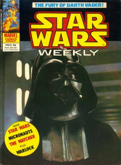 Cover for Star Wars Weekly (Marvel UK, 1978 series) #52