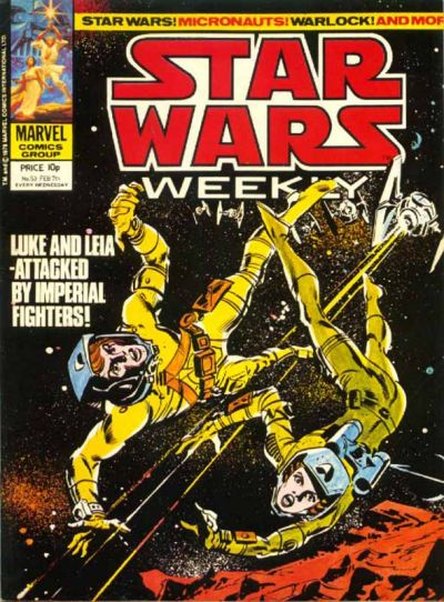 Cover for Star Wars Weekly (Marvel UK, 1978 series) #53
