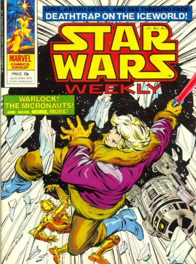 Cover for Star Wars Weekly (Marvel UK, 1978 series) #59