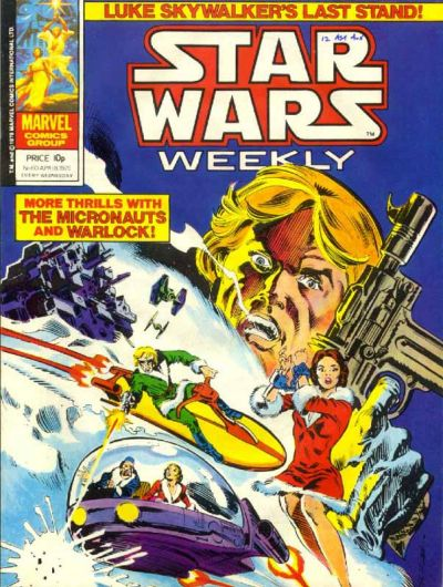 Cover for Star Wars Weekly (Marvel UK, 1978 series) #60