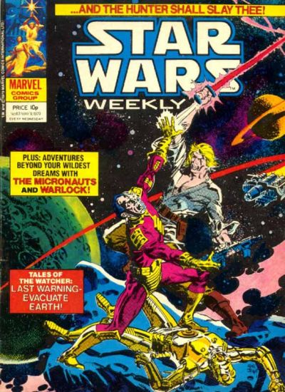 Cover for Star Wars Weekly (Marvel UK, 1978 series) #63