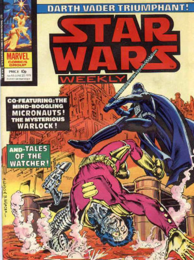 Cover for Star Wars Weekly (Marvel UK, 1978 series) #69