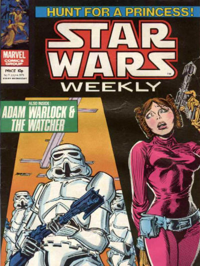 Cover for Star Wars Weekly (Marvel UK, 1978 series) #71