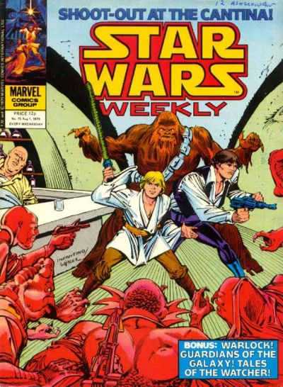 Cover for Star Wars Weekly (Marvel UK, 1978 series) #75