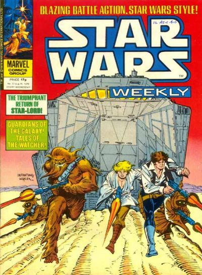 Cover for Star Wars Weekly (Marvel UK, 1978 series) #77