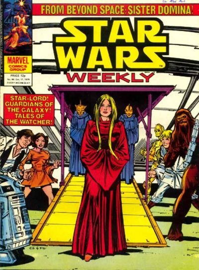 Cover for Star Wars Weekly (Marvel UK, 1978 series) #86