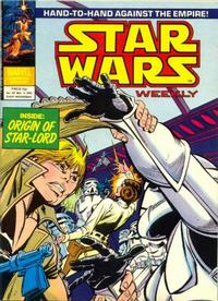 Cover Thumbnail for Star Wars Weekly (Marvel UK, 1978 series) #107