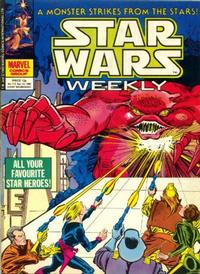 Cover Thumbnail for Star Wars Weekly (Marvel UK, 1978 series) #113