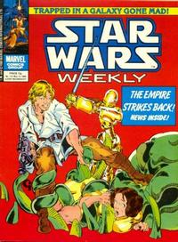 Cover Thumbnail for Star Wars Weekly (Marvel UK, 1978 series) #116