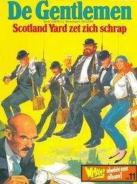 Cover Thumbnail for Wham! Album (Harko Magazines, 1979 series) #11 - De Gentlemen: Scotland Yard zet zich schrap