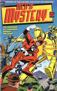 Cover for Men of Mystery Comics (AC, 1999 series) #69