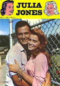Cover Thumbnail for Julia Jones (Serieforlaget / Se-Bladene / Stabenfeldt, 1963 series) #1/1963