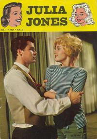 Cover Thumbnail for Julia Jones (Serieforlaget / Se-Bladene / Stabenfeldt, 1963 series) #1/1964