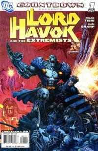 Cover Thumbnail for Countdown Presents: Lord Havok & the Extremists (DC, 2007 series) #1