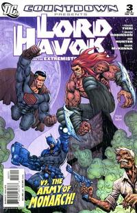 Cover Thumbnail for Countdown Presents: Lord Havok & the Extremists (DC, 2007 series) #3