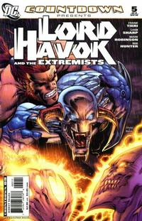 Cover Thumbnail for Countdown Presents: Lord Havok & the Extremists (DC, 2007 series) #5
