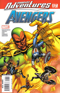 Cover Thumbnail for Marvel Adventures The Avengers (Marvel, 2006 series) #17