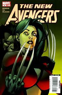Cover Thumbnail for New Avengers (Marvel, 2005 series) #36