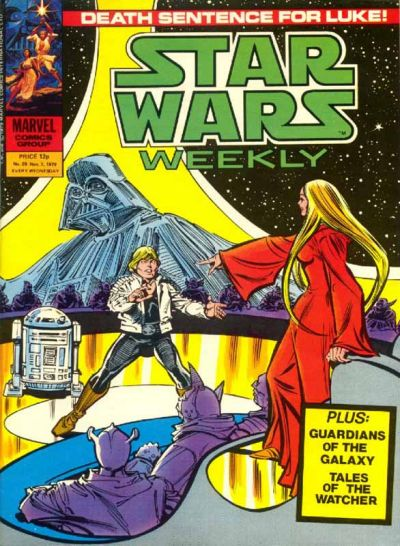 Cover for Star Wars Weekly (Marvel UK, 1978 series) #89