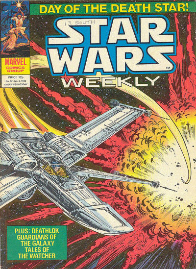 Cover for Star Wars Weekly (Marvel UK, 1978 series) #97