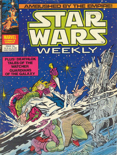 Cover for Star Wars Weekly (Marvel UK, 1978 series) #99
