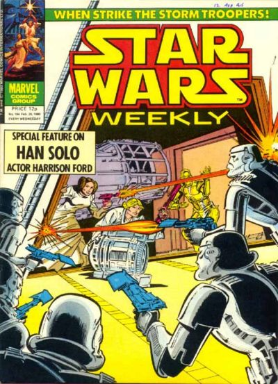 Cover for Star Wars Weekly (Marvel UK, 1978 series) #104