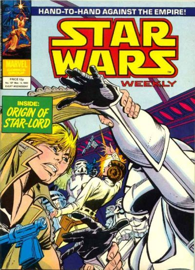 Cover for Star Wars Weekly (Marvel UK, 1978 series) #107