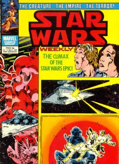 Cover for Star Wars Weekly (Marvel UK, 1978 series) #117