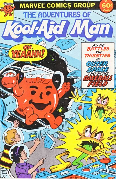 Cover for The Adventures of Kool-Aid Man (Marvel, 1983 series) #nn [1]
