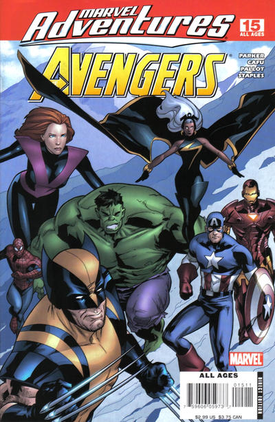 Cover for Marvel Adventures The Avengers (Marvel, 2006 series) #15