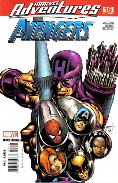 Cover for Marvel Adventures The Avengers (Marvel, 2006 series) #16