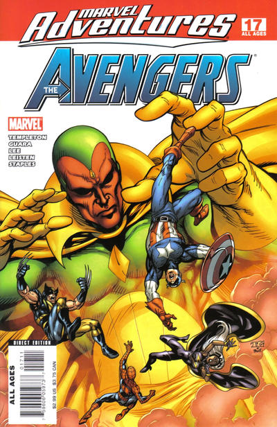 Cover for Marvel Adventures The Avengers (Marvel, 2006 series) #17
