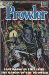 Cover for The Prowler (Eclipse, 1987 series) #3