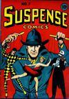 Cover for Suspense Comics (Temerson / Helnit / Continental, 1943 series) #7