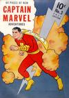 Cover for Captain Marvel Adventures (Fawcett, 1941 series) #3