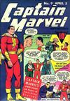 Cover for Captain Marvel Adventures (Fawcett, 1941 series) #9