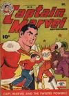 Cover for Captain Marvel Adventures (Fawcett, 1941 series) #50
