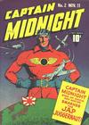 Cover for Captain Midnight (Fawcett, 1942 series) #2