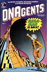 Cover Thumbnail for The DNAgents (Eclipse, 1983 series) #17
