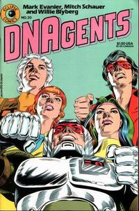 Cover Thumbnail for The DNAgents (Eclipse, 1983 series) #20