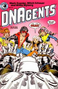 Cover Thumbnail for The DNAgents (Eclipse, 1983 series) #21